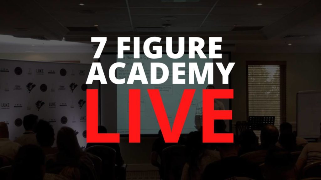 7 Figure Academy Live 4/12/19